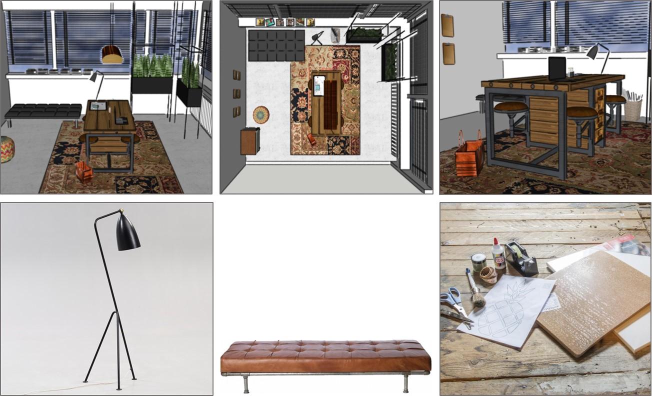 werkplek en kantoor styling door het bureau van c